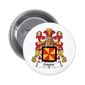 Escudo de la familia de Gagne Pin