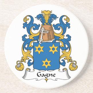 Escudo de la familia de Gagne Posavasos Diseño