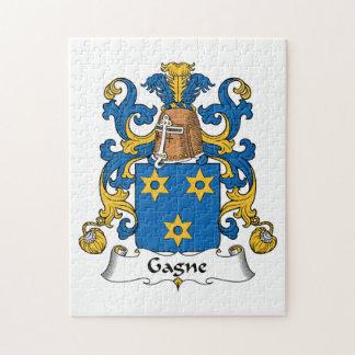Escudo de la familia de Gagne Puzzles Con Fotos