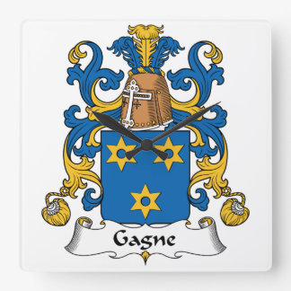 Escudo de la familia de Gagne Relojes