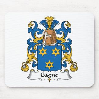Escudo de la familia de Gagne Tapetes De Raton