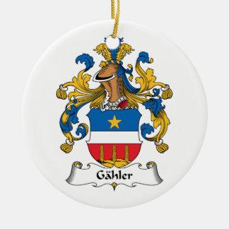 Escudo de la familia de Gahler Adorno De Reyes