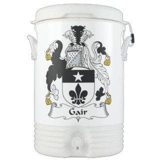 Escudo de la familia de Gair Enfriador De Bebida Igloo