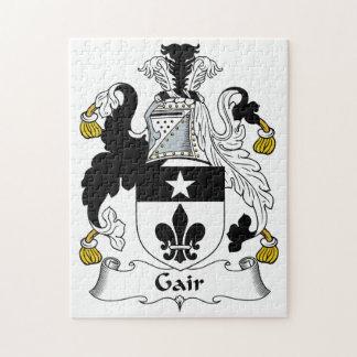 Escudo de la familia de Gair Rompecabeza Con Fotos
