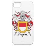 Escudo de la familia de Galaon iPhone 5 Case-Mate Fundas