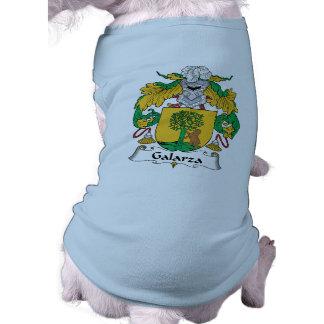 Escudo de la familia de Galarza Camiseta De Mascota