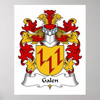 Escudo de la familia de Galen Impresiones