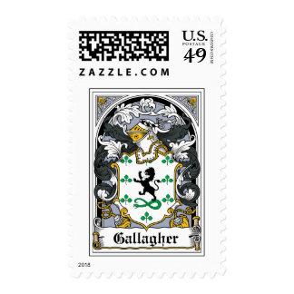 Escudo de la familia de Gallagher Sello