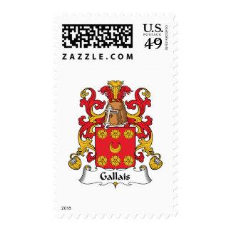 Escudo de la familia de Gallais Envio