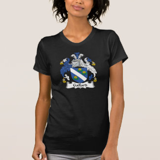 Escudo de la familia de Gallard Camiseta