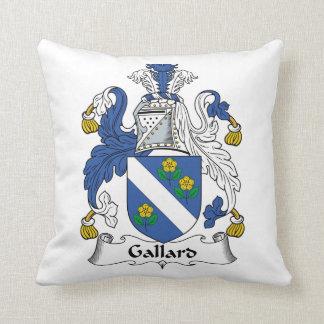 Escudo de la familia de Gallard Cojin