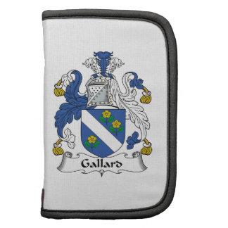 Escudo de la familia de Gallard Planificadores