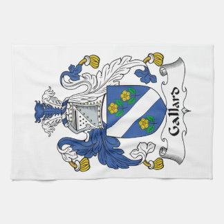 Escudo de la familia de Gallard Toalla