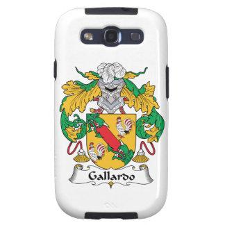 Escudo de la familia de Gallardo Galaxy S3 Funda