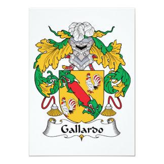 Escudo de la familia de Gallardo Comunicado Personal