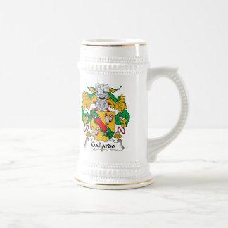 Escudo de la familia de Gallardo Tazas De Café