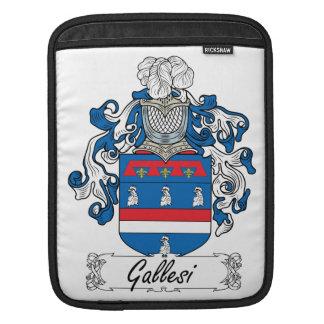 Escudo de la familia de Gallesi Mangas De iPad