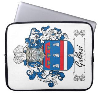 Escudo de la familia de Gallesi Mangas Portátiles