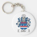 Escudo de la familia de Gallesi Llaveros Personalizados