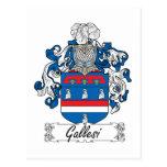 Escudo de la familia de Gallesi Postal