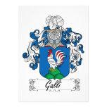 Escudo de la familia de Galli Invitación Personalizada