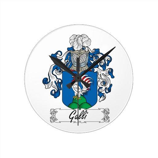 Escudo de la familia de Galli Relojes