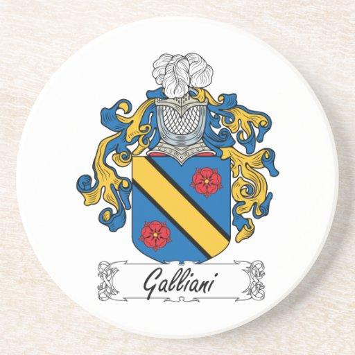 Escudo de la familia de Galliani Posavaso Para Bebida