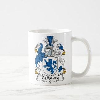 Escudo de la familia de Galloway Taza De Café