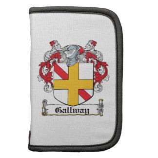 Escudo de la familia de Gallway Organizador