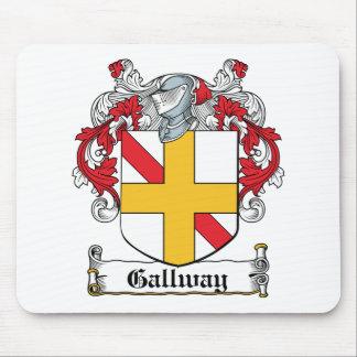 Escudo de la familia de Gallway Alfombrillas De Ratones