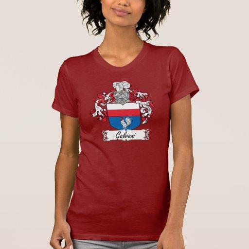 Escudo de la familia de Galvani Camiseta