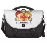 Escudo de la familia de Galwey Bolsas Para Portátil