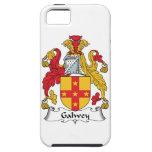 Escudo de la familia de Galwey iPhone 5 Carcasas
