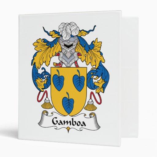 Escudo de la familia de Gamboa