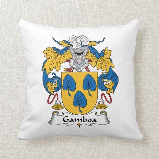 Escudo de la familia de Gamboa Cojines
