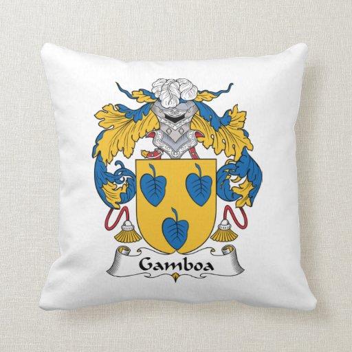 Escudo de la familia de Gamboa Cojin