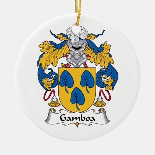Escudo de la familia de Gamboa Ornamento De Reyes Magos