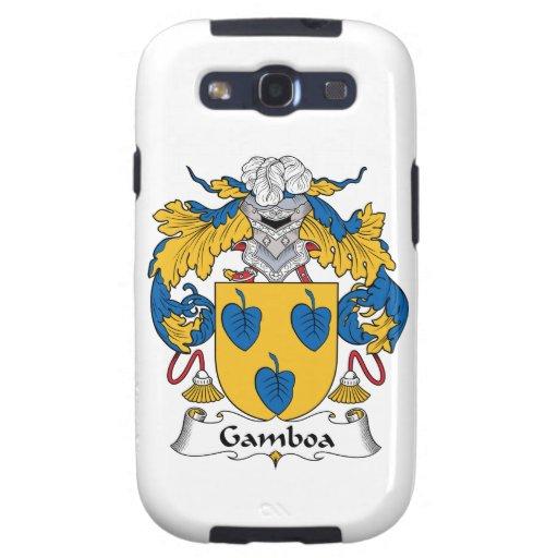 Escudo de la familia de Gamboa Galaxy SIII Carcasas