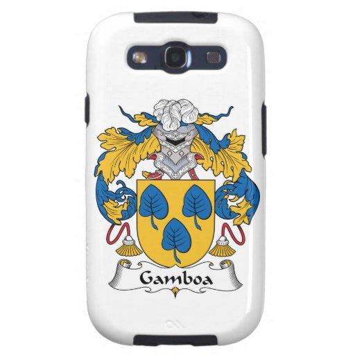 Escudo de la familia de Gamboa Samsung Galaxy S3 Cárcasas