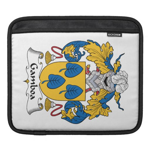 Escudo de la familia de Gamboa Manga De iPad