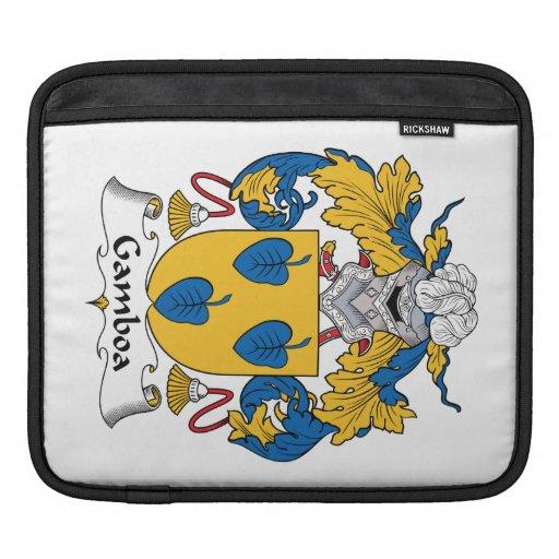 Escudo de la familia de Gamboa Mangas De iPad