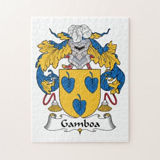 Escudo de la familia de Gamboa Puzzles