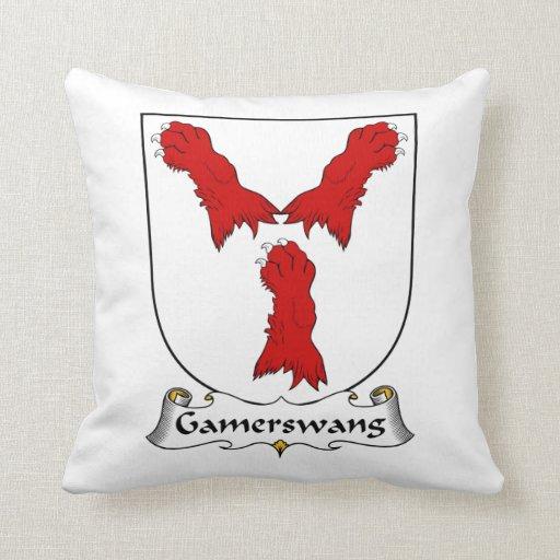 Escudo de la familia de Gamerswang Almohadas