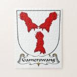 Escudo de la familia de Gamerswang Puzzle Con Fotos