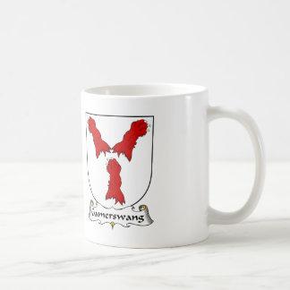 Escudo de la familia de Gamerswang Tazas De Café