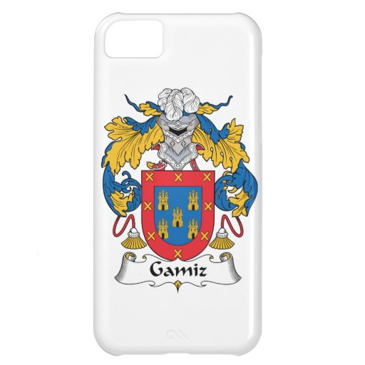 Escudo de la familia de Gamiz Funda Para iPhone 5C