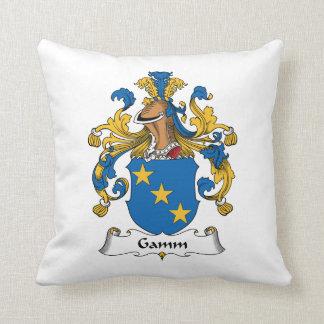 Escudo de la familia de Gamm Almohadas