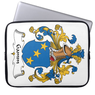 Escudo de la familia de Gamm Fundas Computadoras