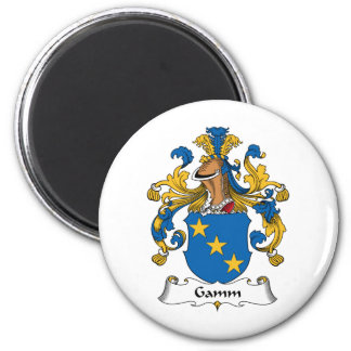 Escudo de la familia de Gamm Iman Para Frigorífico