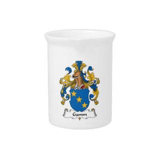Escudo de la familia de Gamm Jarras De Beber